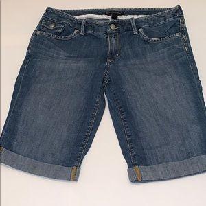 Jean Bermuda shorts light wash